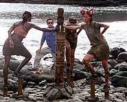 Survivor Marquesas Finale - Final Immunity Challenge.