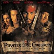 Johnny Depp and Orlando Bloom star in Pirates of the Caribbean: Curse of the Black Pearl