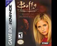 Buffy the Vampire Slayer for the Nintendo Gameboy Advance video game system.