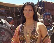 Kelly Hu biography - The Scorpion King.