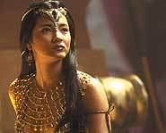 Kelly Hu bio - she stars with The Rock in The Scorpion King.