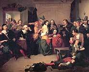 19 people were hanged during the Salem Witch Trials of 1692.