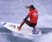 Kelly Slater has appeared in dozens of surf videos and has a video game named after him - Kelly Slater Pro Surfer.