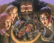Harry Potter and friends hatching a batch of fun.