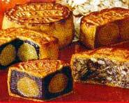 There are several different kinds of mooncakes.