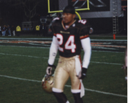 Las Vegas Cornerback, Kory Blackwell.