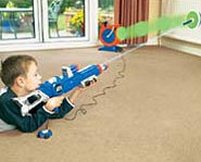 Practice your skills with this fun and safe skeet shooting game!