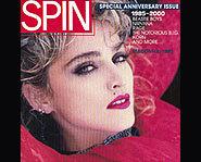 Madonna's 80s look.