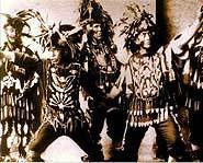 Spirit Dancers during the 1920s.
