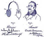 A diagram of Chester's invention is on his patent.