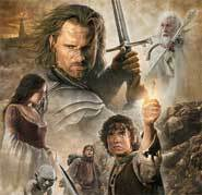 The Lord of the Rings: The Return of the King stars Orlando Bloom as Legolas, Elijah Wood as Frodo and a billion orcs as the bad guys!