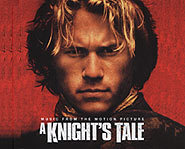 Sexy Heath Ledger stars in the movie A Knight's Tale.