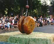 The Big Yo-Yo drop in Hawaii.