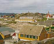The Colonial Harbour in Nuuk.