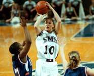 Jackie Stiles was the all-time leading scorer in women's college basketball.