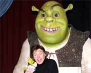 Mike Myers, the voice inside of Shrek
