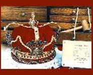Prom kings wear crowns.