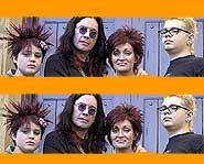 The Osbournes - MTV - Ozzy - Sharon - Kelly - Jack.