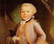 Wolfgang Amadeus Mozart was a happy, friendly child who was an incredible talent.