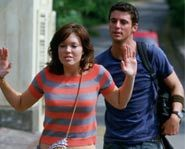 Anna doesn't know Ben is a Secret Service Agent in Chasing Liberty.