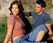 Mandy Moore and Matthew Goode have great chemistry in Chasing Liberty.