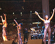 Destiny's Child is made up of Beyonce Knowles, Kelly Rowland and Michelle Williams.
