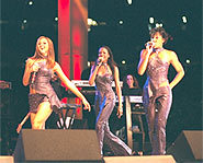 There are lots of girl groups doin' their thing - but Destiny's Child CAN really sing!