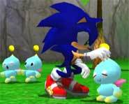 Sonic's lil' Chao buddies.