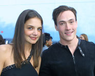 Young actors Katie Holmes and Chris Klein are engaged to be married!
