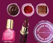 Maybelline colors were inspired by food like chocolate.