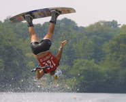 Dallas Friday won a gold medal in wakeboarding at the 2003 Summer X Games.