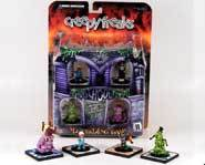 The Creepy Freaks collectible miniatures game is all about gross-out battles between icky monsters!