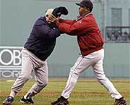 An unprecedented baseball brawl broke out during the 2003 American League Championship Series.