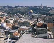 Jerusalem is considered holy by Christians, Jews and Muslims.