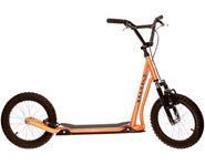 The Dirt-Dawg scooter from Diggler is the ultimate in free wheeling fun.