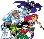 Teen Titans is an animated series on FoxBox.