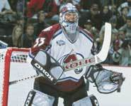 Patrick Roy is 12 - 4 in the 2001 playoffs.