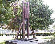 The reconstructed Gibbet.