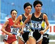 Chinese runners set three world records in 1993.