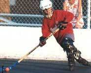 Inline hockey is one of North America's fastest-growing sports.