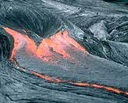 Lava from volcanoes can be thick, thin, gooey or runny.