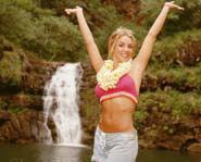 Britney Hawaiian Style