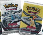 Pokemon Booster Packs.