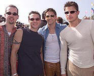 Check out Kidzworld's biography on boy band 98 Degrees!