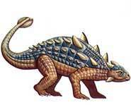 Ankylosaurus was like a big armored tank that only ate its greens.
