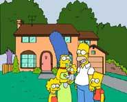 The whole Simpson family.