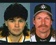 Double J and Randy J sporting the mullet.