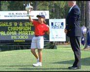The US Kids Golf World Championship on Jekyll Island.