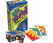 Go Wacky is a family dice and card game.