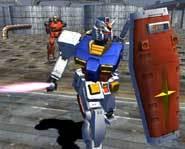 Gundam's gonna kick some butt.
